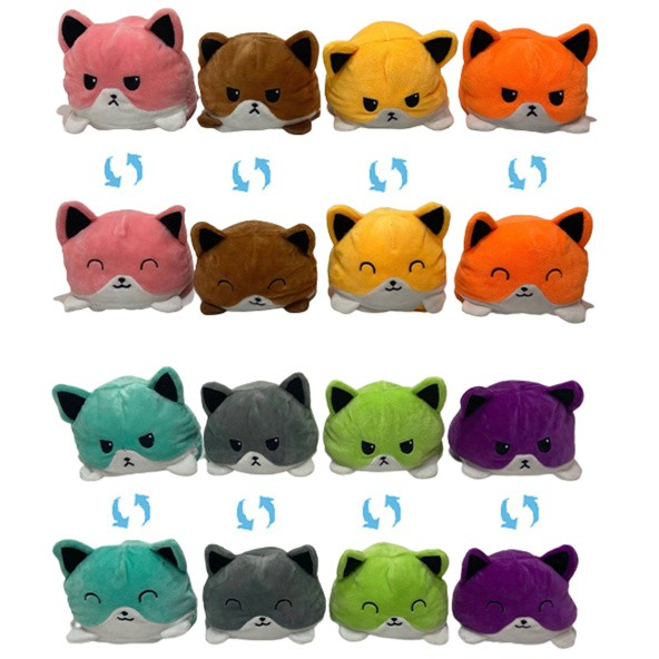 Wholesale Fox Double-Sided Flip Stuffed Animals Stuffed Toy