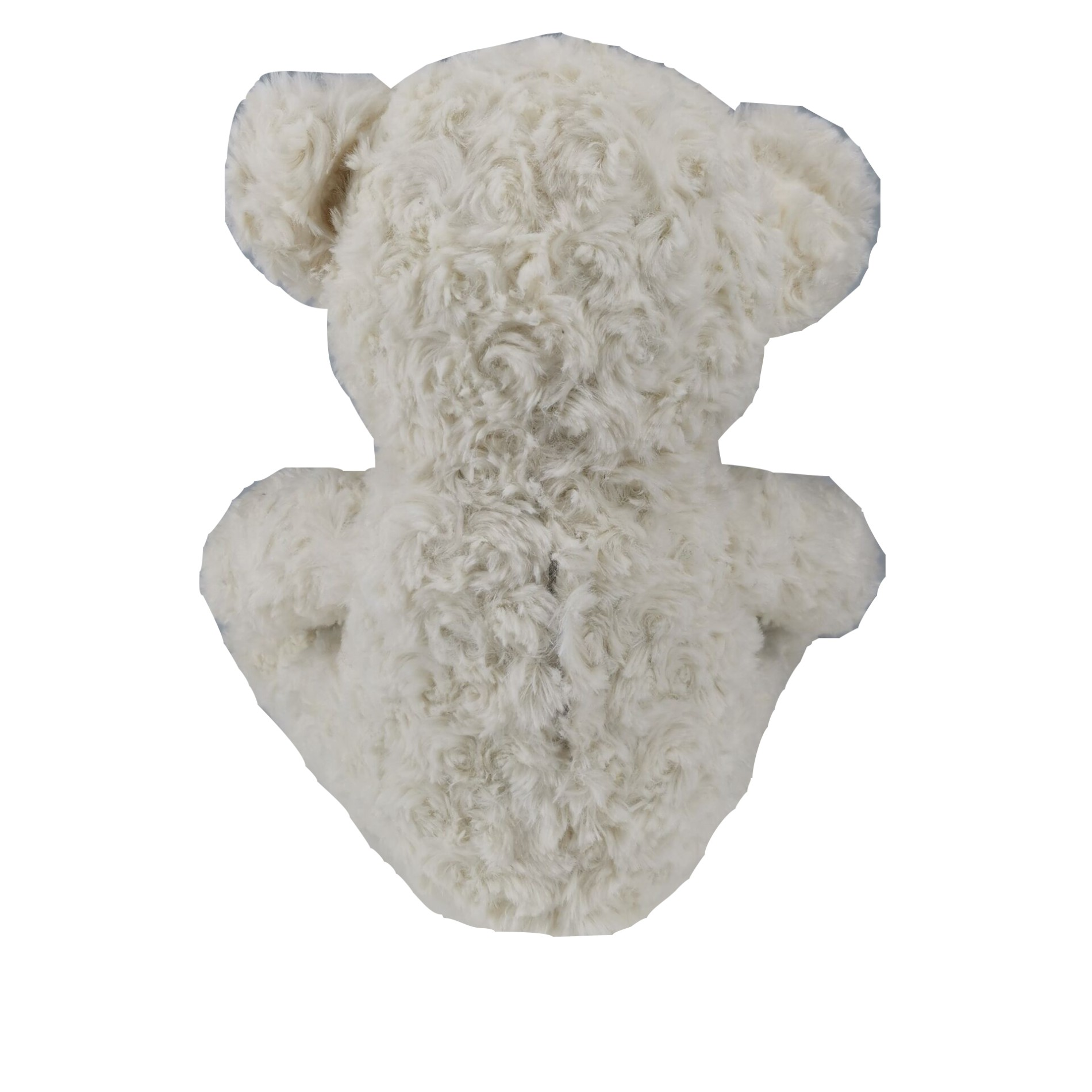 White Singing Teddy Bear with Fan