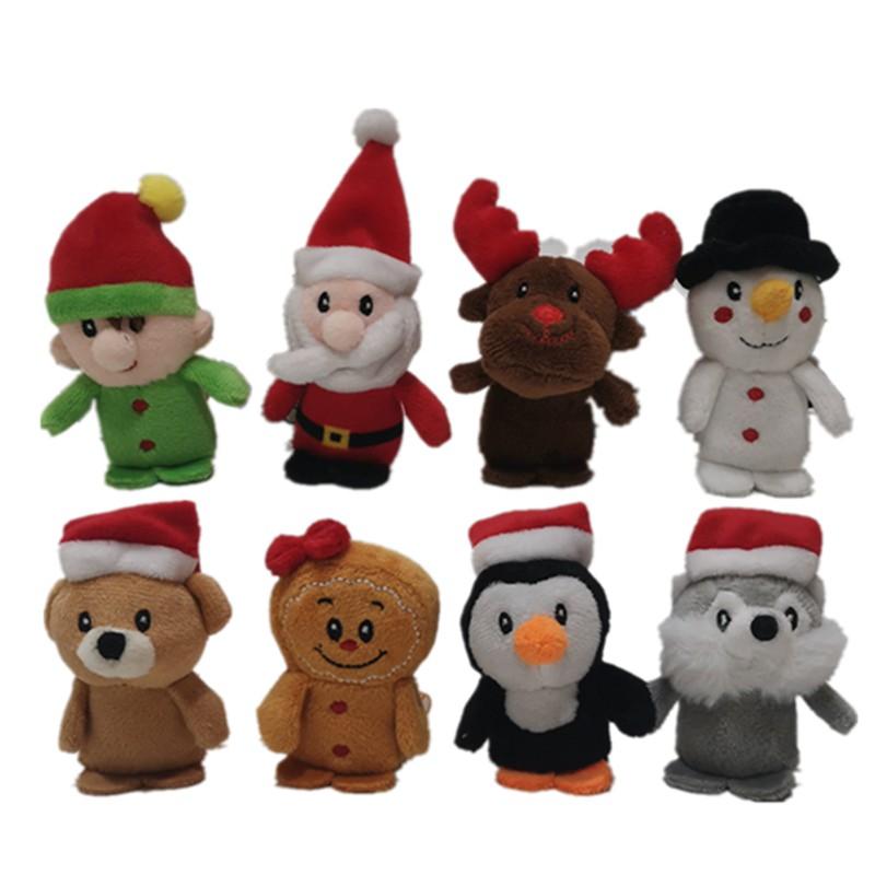 8 рождественских игрушек ASSTD со звуком