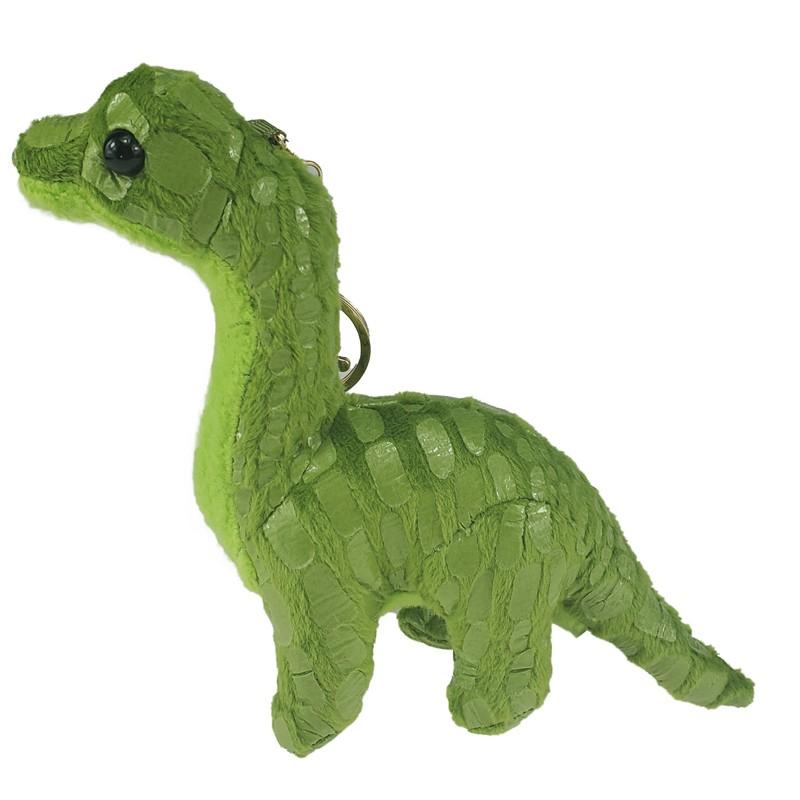 Plush Dinosaur Keychain