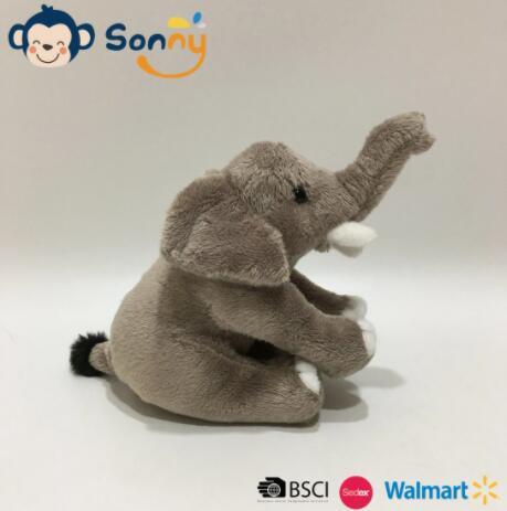 China Fabriek Eco-vriendelijk gerecycled materiaal Levensechte pluche schattige babyolifant