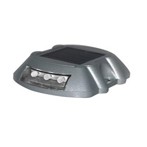 Waterproof Solar Power Road Stud Die-casting Aluminum Traffic Signal LED Light