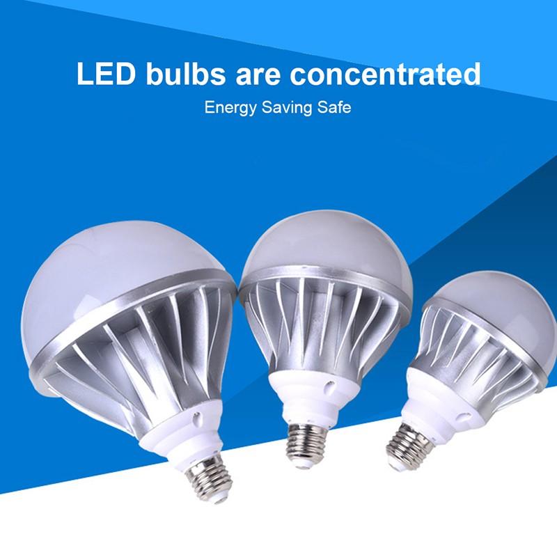 E27 LED Lamp Bulb 220V 24W 36W 50W Die-cast Aluminum Lamp Bulb SMD 5730 LED bulbs Energy Saving Indoor Lighting Bulb for home