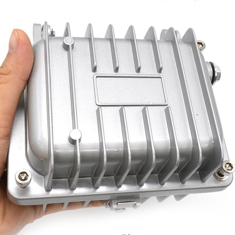 Custodia per amplificatore di segnale CATV professionale impermeabile IP65 Custodia in alluminio pressofuso 128x94x98mm per circuito stampato