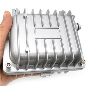 Professional IP65 Waterproof Outdoor CATV Signal Amplifier Enclosure Aluminum Die Cast Housing 128x94x98mm for Circuit board