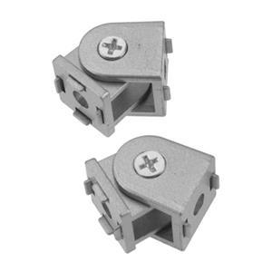 2 Pcs Aluminum Alloy Pivot Joint for Aluminum Extrusion Profile 2020 Series Flexible Pivot Joint 2020 Aluminum Profile