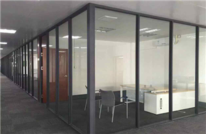 80 single glazed partition