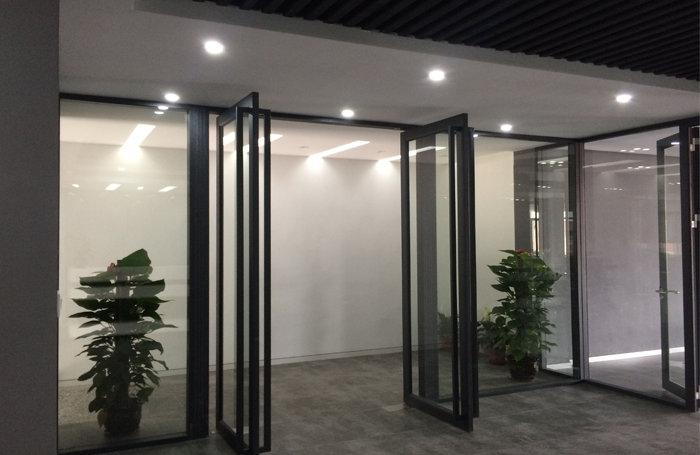 100 double glazed partition