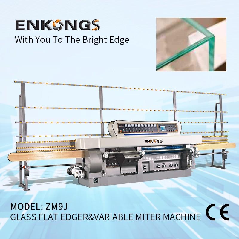 ZM9J Glass Flat Edger & Variable Miter Machine Manufacturers, ZM9J Glass Flat Edger & Variable Miter Machine Factory, Supply ZM9J Glass Flat Edger & Variable Miter Machine