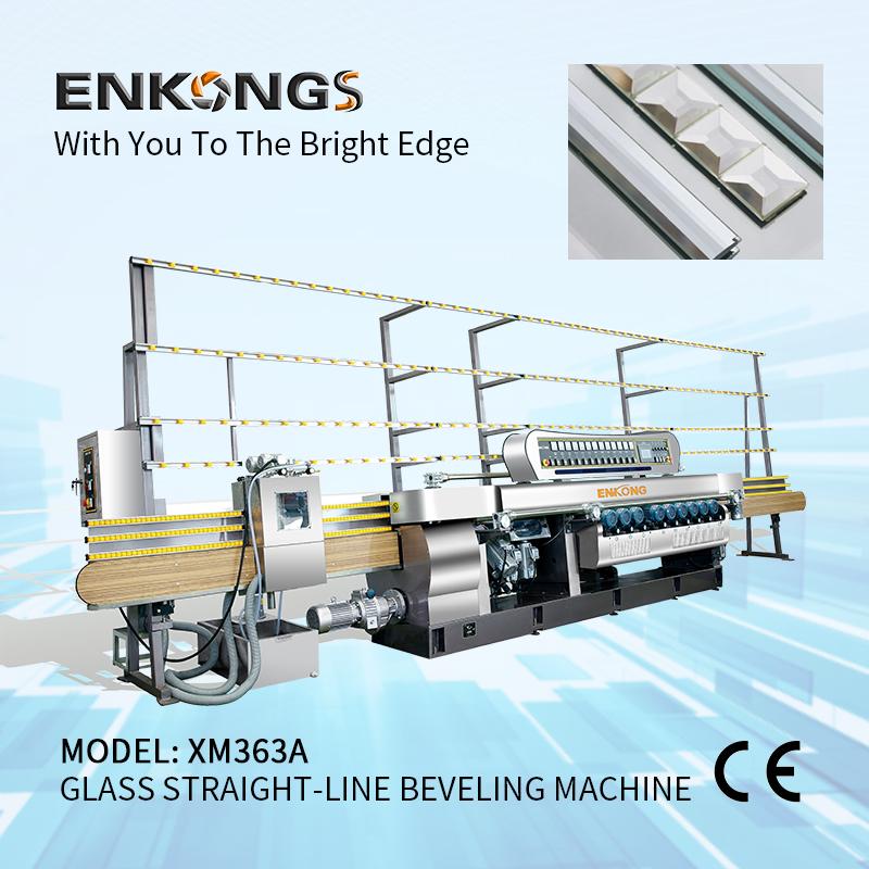 XM363A Glass Straight-line Beveling Machine