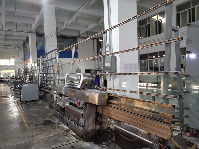 Automatic Glass Vertical Edging Production Line in Zhongshan