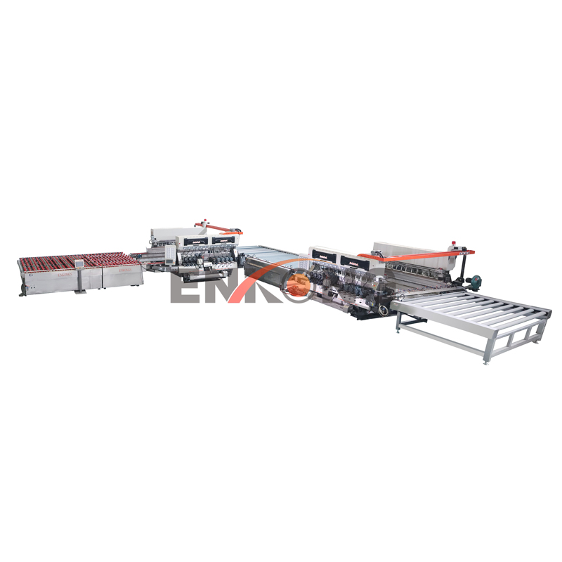 L-Type Glass Straight-line Double Edging Production Line