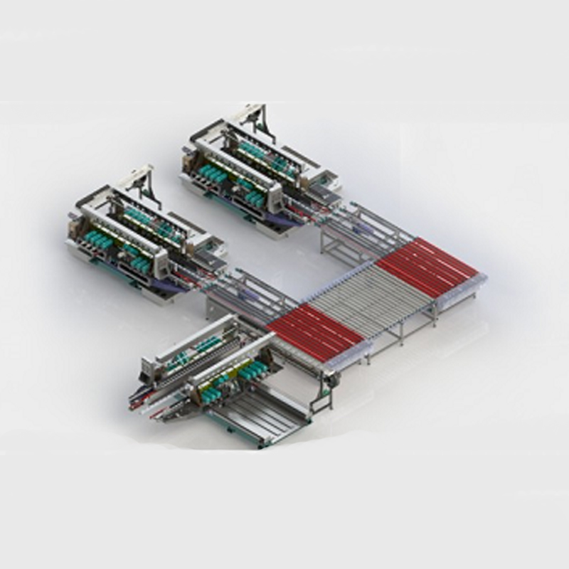 F-Type Glass Straight-line Edging Production Line