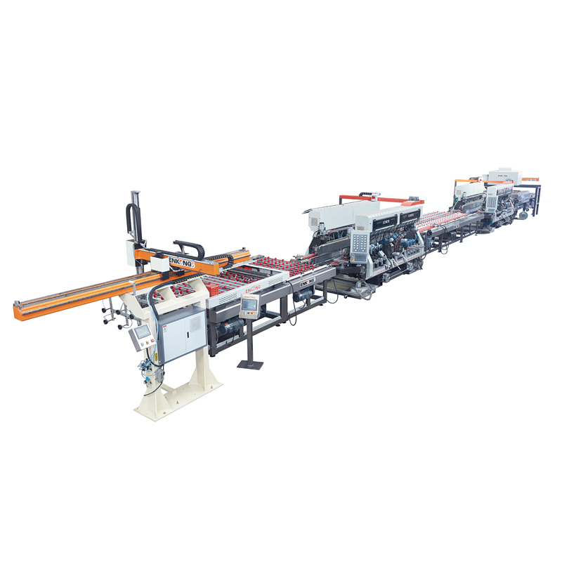 Linear-Type Glass Straight-line Edging Production Line