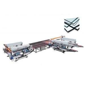 SM20 L Type 4025 Glass Straight-line Standard Double Edging Processing line