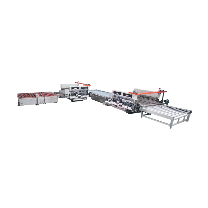 SM24 Series 4025 Glass Straight-line Double Edging Processing line