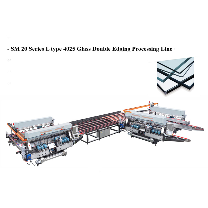 SM3025 Glass Straight-line Double Edging Processing line