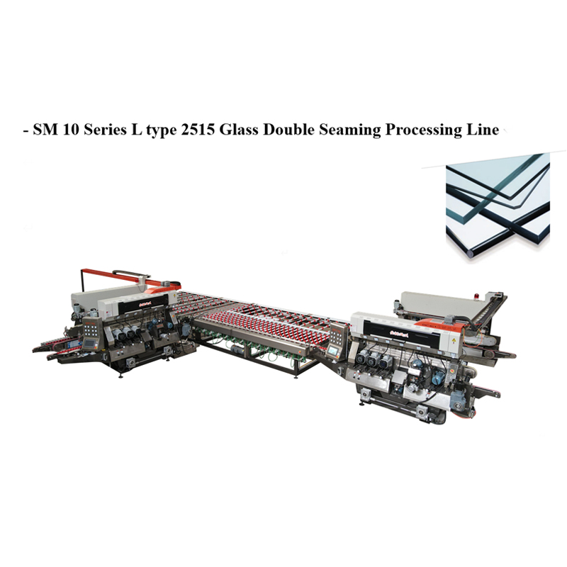 SM10 Glass 1010 Straight-line Double Sides Seaming Processing line
