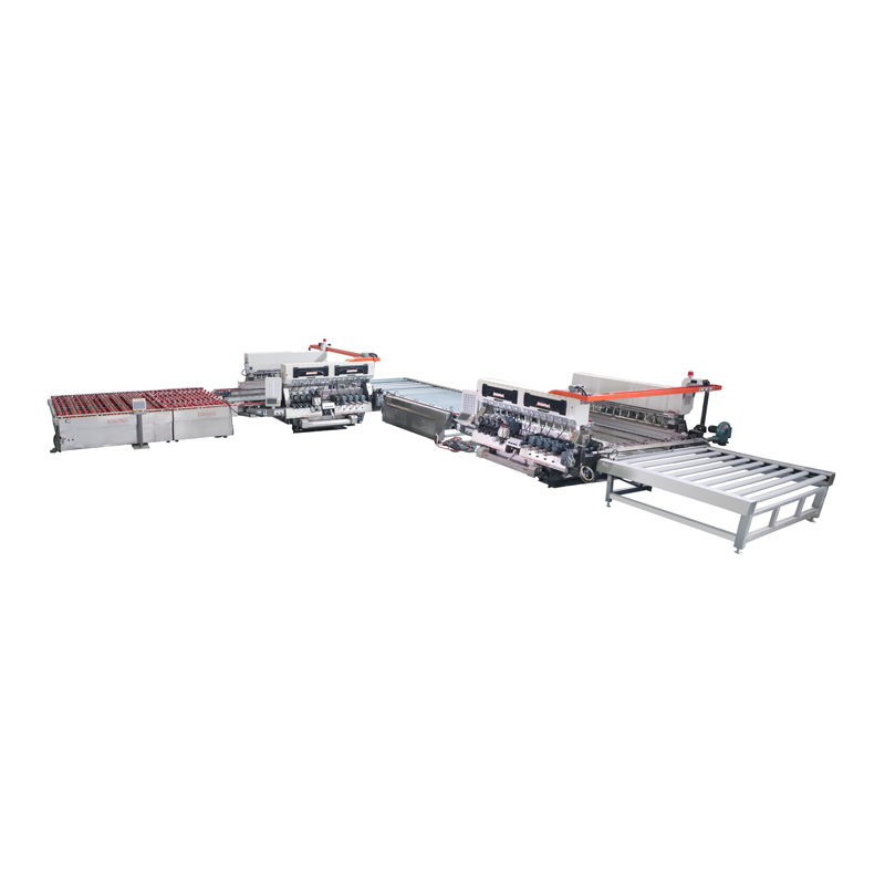 SM24 Series 3025 Glass Straight-line Double Edging Processing line