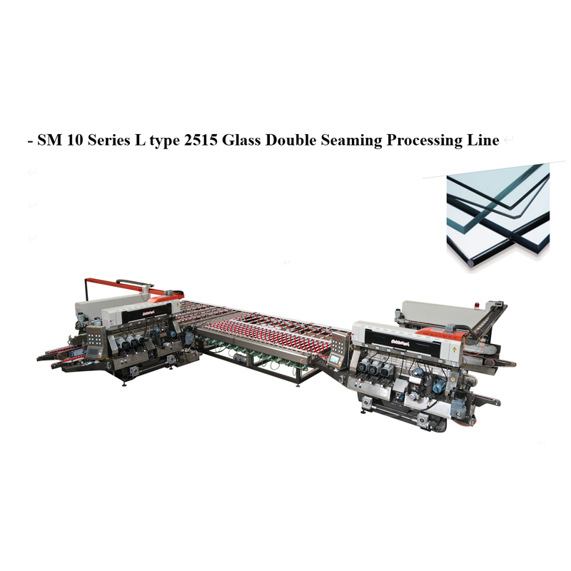 SM10 Glass 1510 Straight-line Double Sides Seaming Processing line