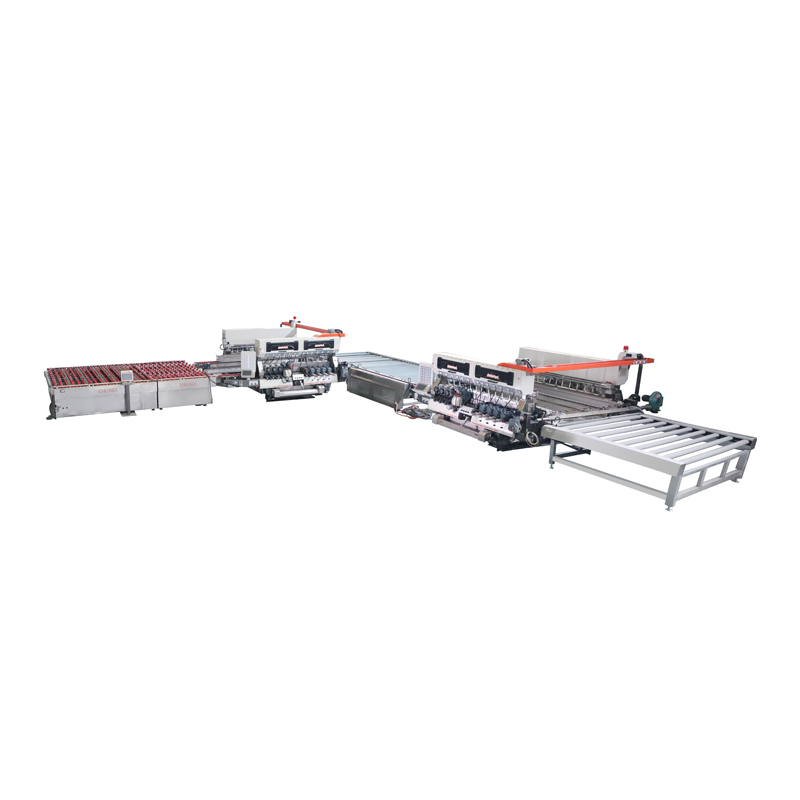 SM24 Series 2015 Glass Straight-line Double Edging Processing line