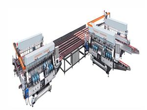 SM2040 20Spindles Glass Straight-line Double Edging Machine