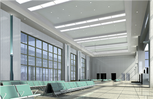 Commercial Ceiling-lighting Integration system