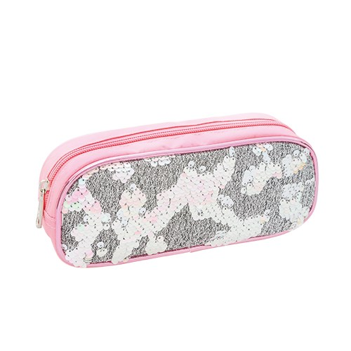 reversible beaded feature pencil case