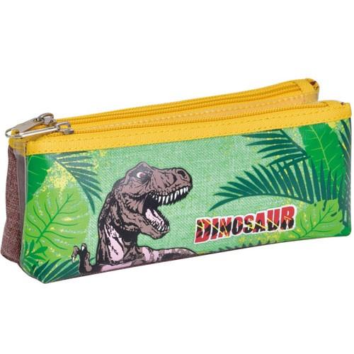 Dinosaur Printing Cool Polyester Boy Pencil Case