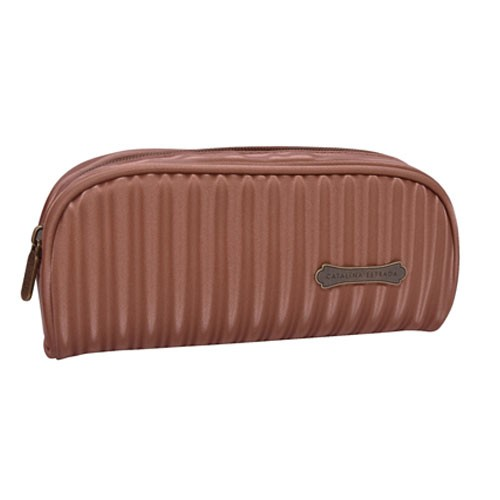 striped polyester students pencil case