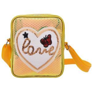 Fashion Popular Shiny Material Boy And Girl School Bag