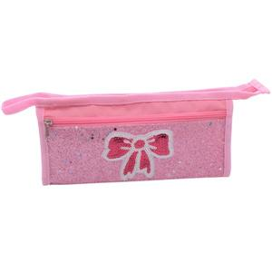 Embroidery Flicker Material Fashionable Pencilcase