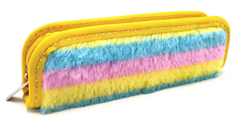 Gradient plush lovely pencilcase