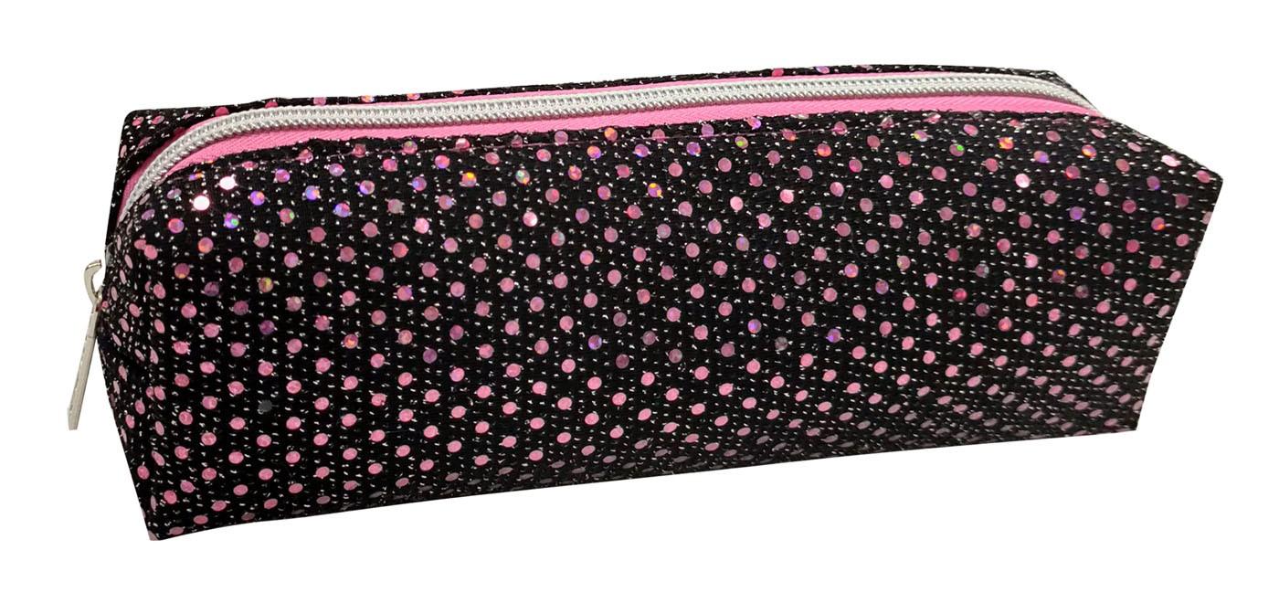 elastic flash dot fashion pencilbag