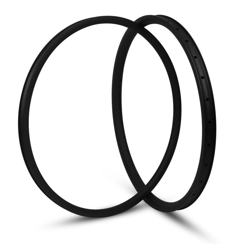 29er Carbon Rims 35mm Width 25mm Depth Tubeless Rims