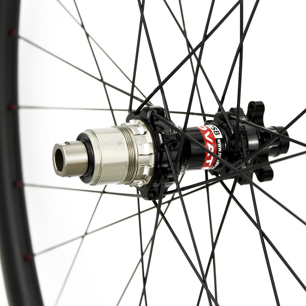 38mm depth 25mm width NOVATEC D411 D412 Road Disc Brake Hub Wheelset