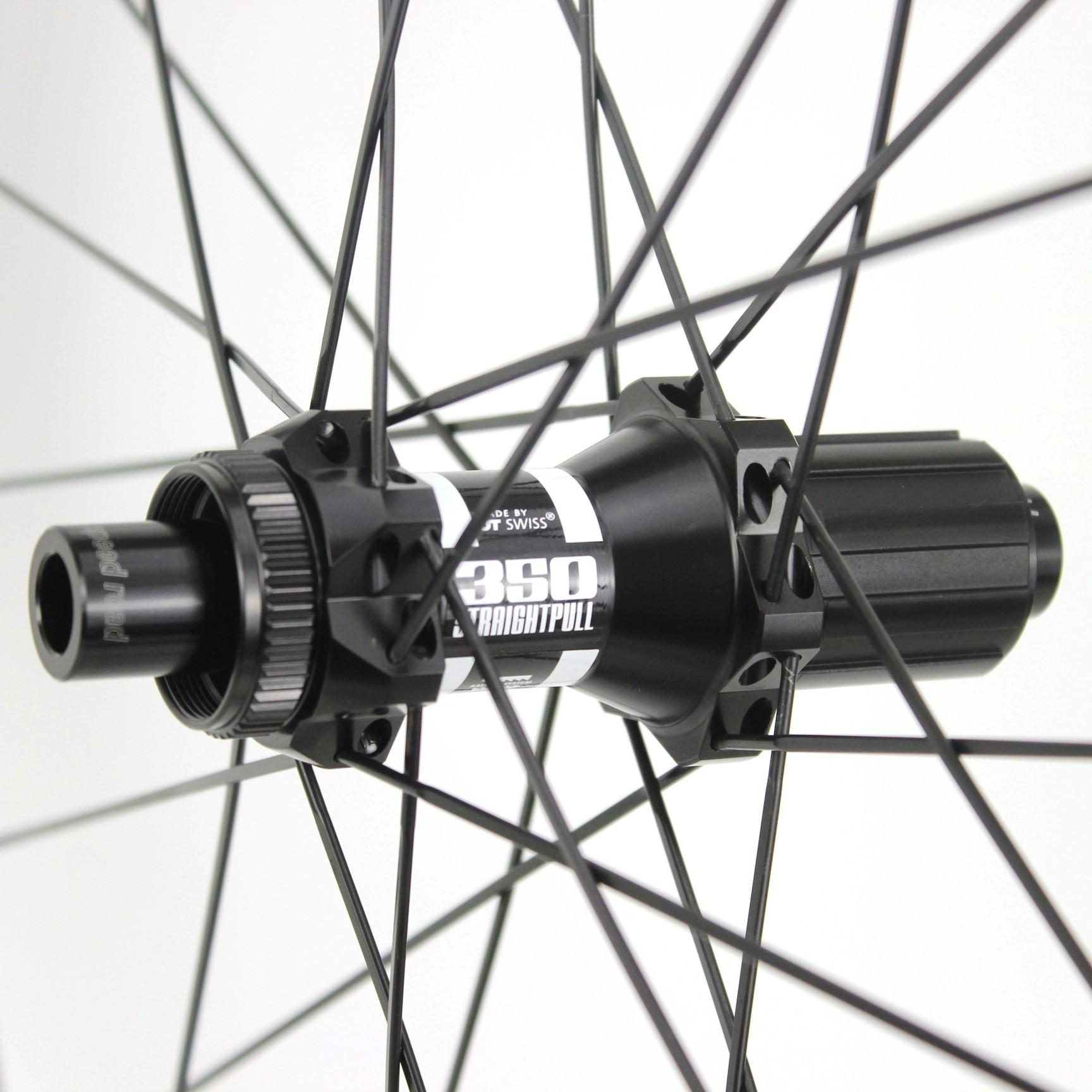 700C road disc wheelset 47mm rim depth sapim cx ray spokes