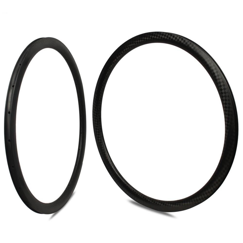 700c Carbon Fiber Road Disc Bike Rim 38mm Depth