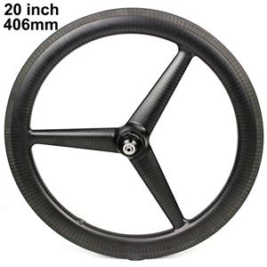 Folding Bike Wheel Tri Spoke