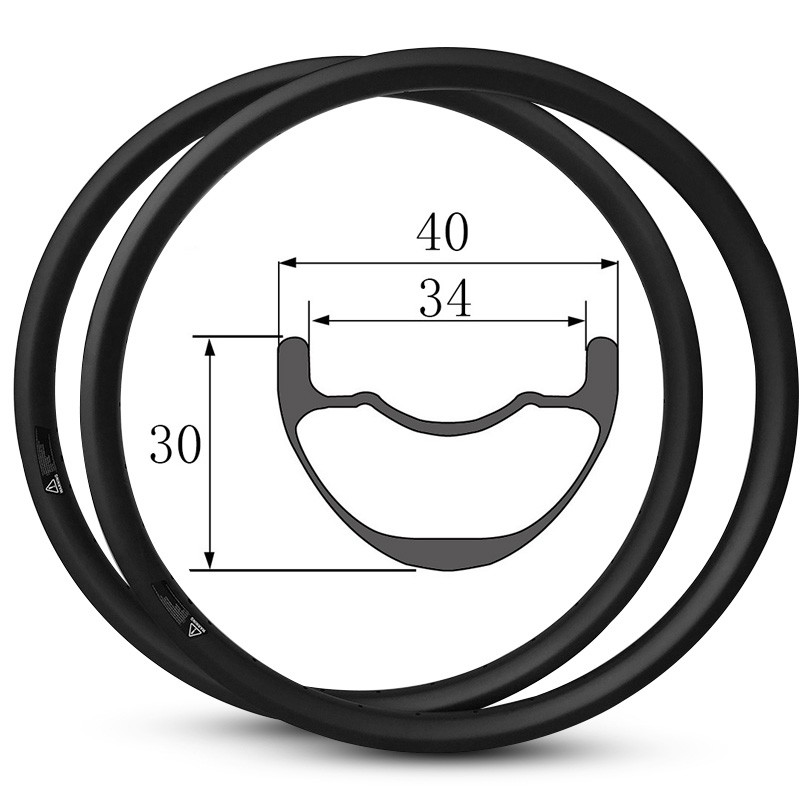29er Mtb AM Rims 40mm Width 30mm Depth