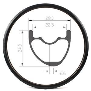27.5er ultralight MTB rim 28mm width 280g 650B mtb rims