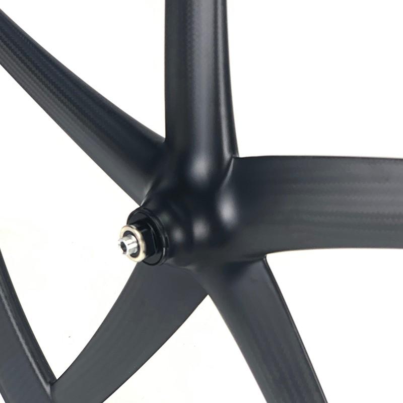 700C five spoke wheel track bike wheel 25mm width