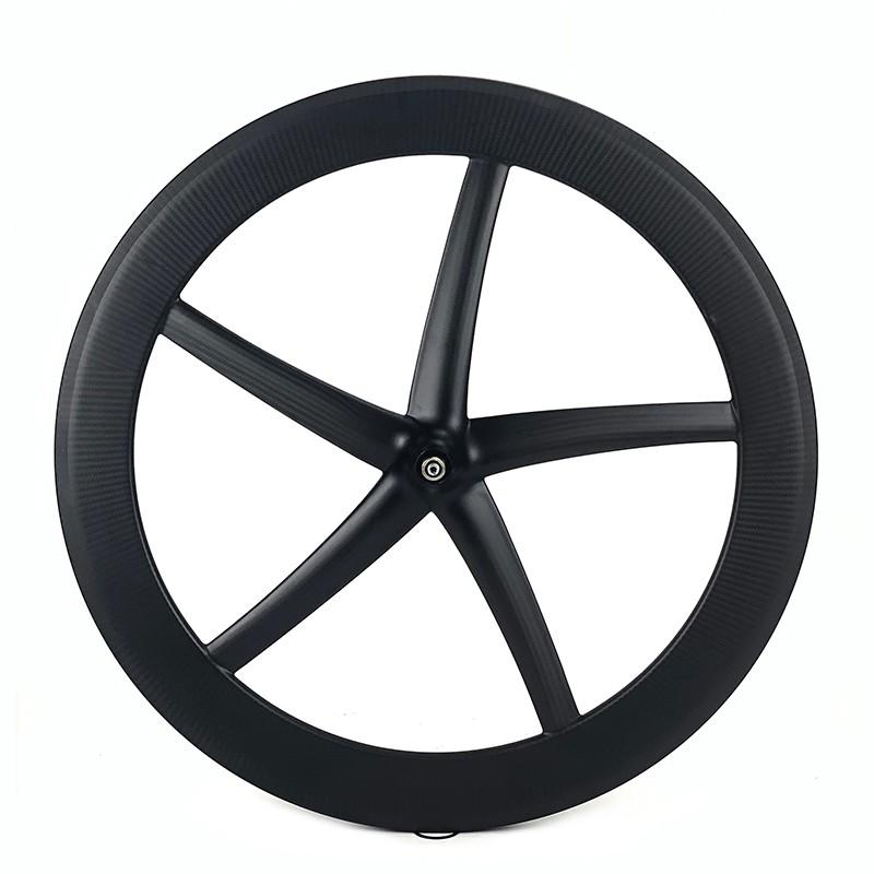 700C roue à cinq rayons roue de vélo de piste 25 mm de largeur
