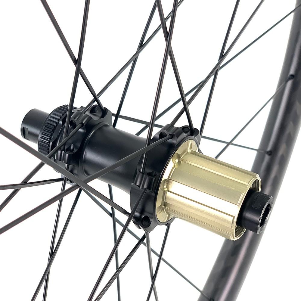 yuan an 700c road bike disc brake 40mm rim depth wheelset