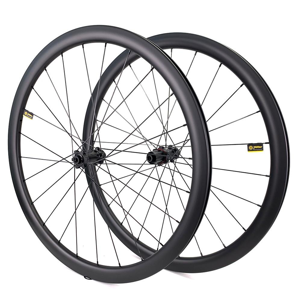 yuan an 700c gravel 40mm rim depth wheelset cyclocross