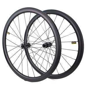 yuan an 700c road bike disc brake 40mm rim depth wheelset