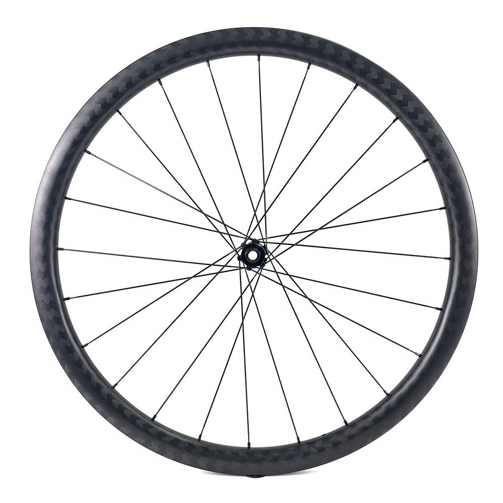 700c Carbon Cycrocross Bike Wheelset 35mm Depth