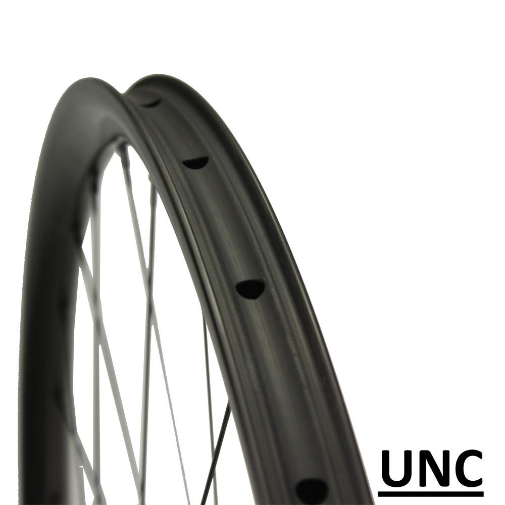UNC 29er MTB wheelset cross country Ultralight rims pro MTB hub