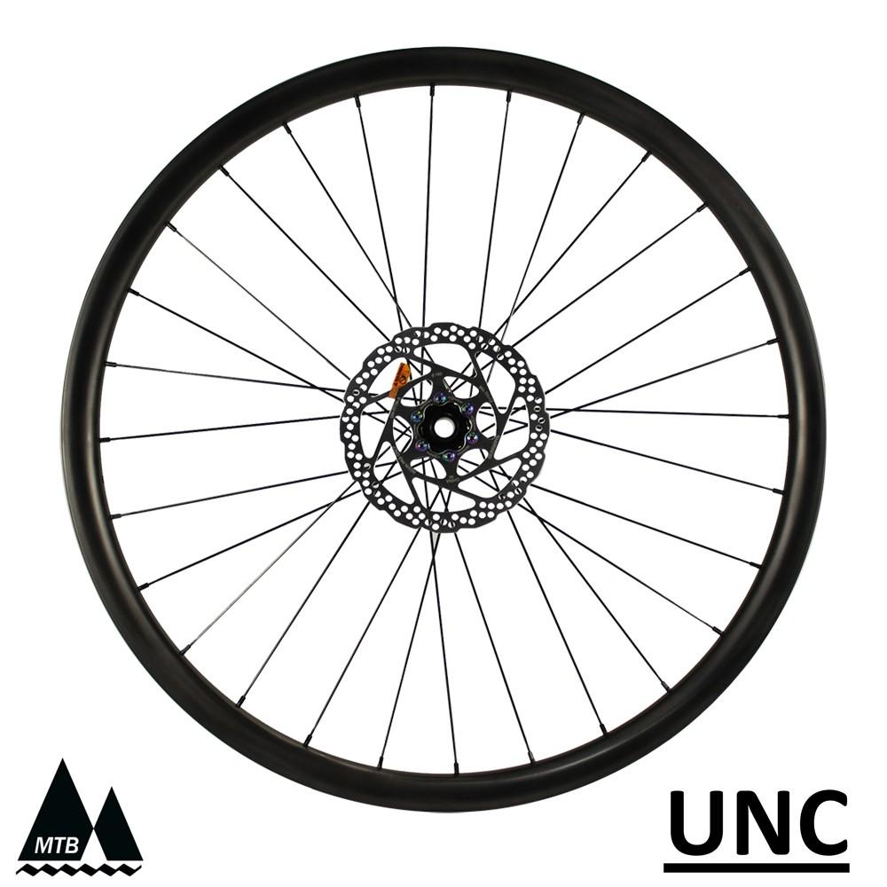 Paire de roues UNC 29er VTT cross country jantes ultralégères moyeu VTT pro