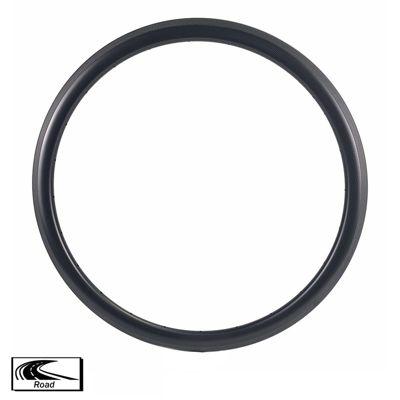Carbon Fiber Cycle Rims 38mm Depth 25mm width Road Rims
